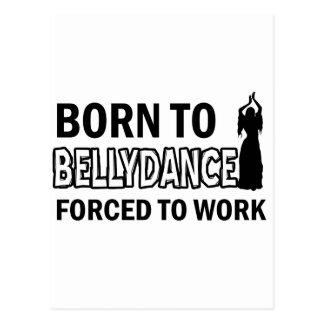 Diseños de la danza de Belly Tarjetas Postales