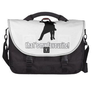 diseños de la danza de salón de baile bolsas para portatil