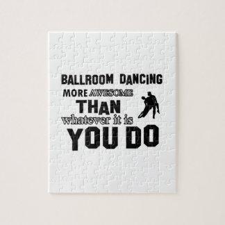 DISEÑOS de la DANZA de salón de baile Rompecabezas
