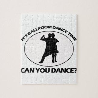 DISEÑOS de la DANZA de salón de baile Puzzles