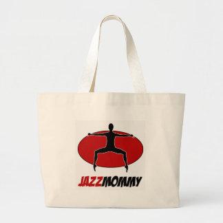 DISEÑOS de la DANZA del jazz Bolsas Lienzo
