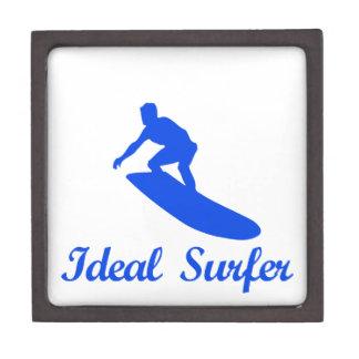 Diseños de la DANZA QUE PRACTICAN SURF Caja De Joyas De Calidad
