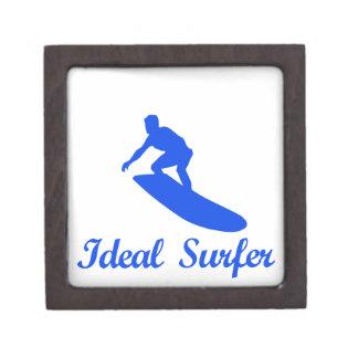 Diseños de la DANZA QUE PRACTICAN SURF Cajas De Joyas De Calidad