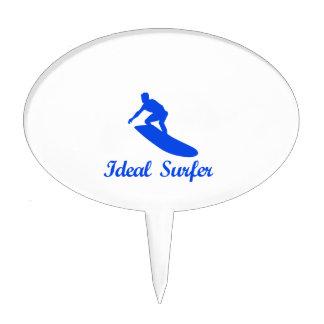 Diseños de la DANZA QUE PRACTICAN SURF Figuras De Tarta