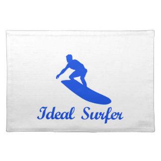 Diseños de la DANZA QUE PRACTICAN SURF Mantel