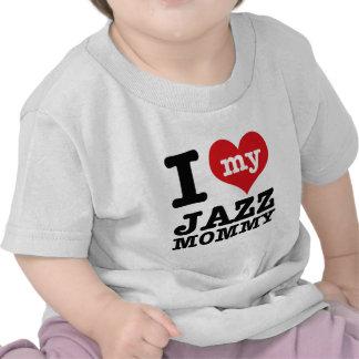 Diseños de la mamá de la danza del jazz camiseta