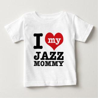 Diseños de la mamá de la danza del jazz playeras