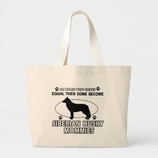 Diseños de la mamá del husky siberiano