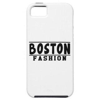 Diseños de la moda de Boston iPhone 5 Carcasas