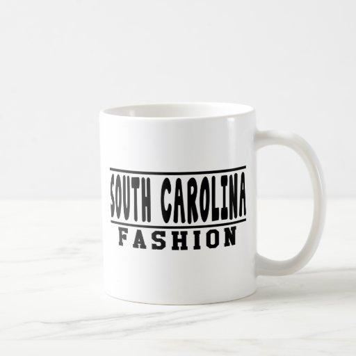 Diseños de la moda de Carolina del Sur Taza De Café