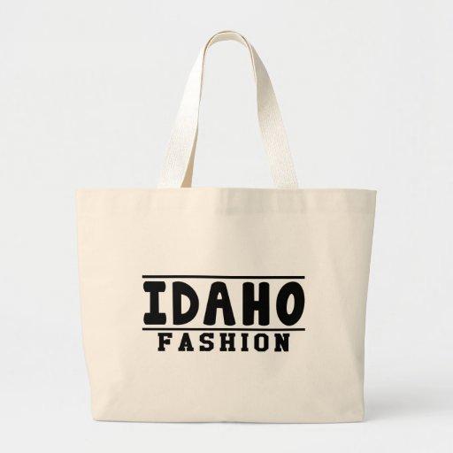 Diseños de la moda de Idaho Bolsa De Mano