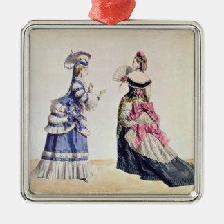 Diseños de la moda para las mujeres a partir de lo adorno de navidad