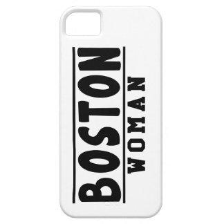 Diseños de la mujer de Boston iPhone 5 Case-Mate Coberturas