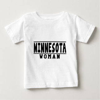 Diseños de la mujer de Minnesota Playera