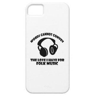 Diseños de la música tradicional funda para iPhone SE/5/5s