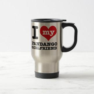 Diseños de la novia de la danza del fandango taza