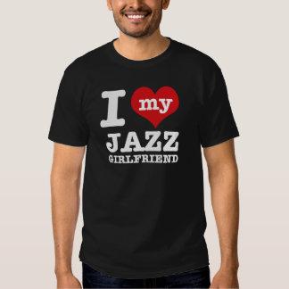 Diseños de la novia de la danza del jazz playera