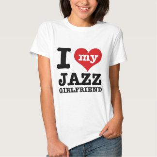 Diseños de la novia de la danza del jazz poleras