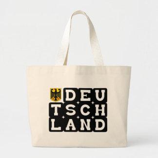¡Diseños de la original de Deutschand! Bolsa Tela Grande
