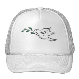 Diseños de la paloma gorras de camionero