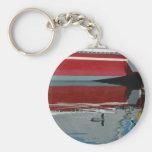 Diseños de la playa llaveros personalizados