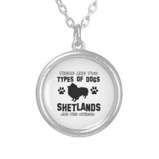 Diseños de la raza del perro de Shetland Grímpola