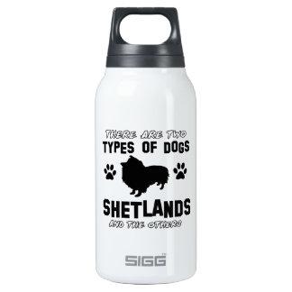 Diseños de la raza del perro de Shetland