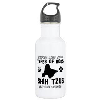 Diseños de la raza del perro de Shih Tzu