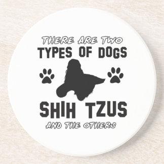 Diseños de la raza del perro de Shih Tzu Posavasos Para Bebidas