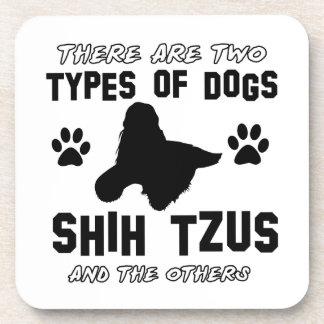 Diseños de la raza del perro de Shih Tzu Posavasos