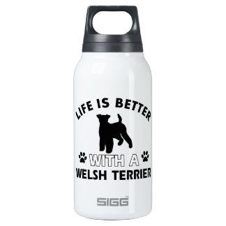 Diseños de la raza del perro de Terrier galés