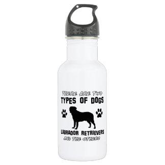 Diseños de la raza del perro del labrador