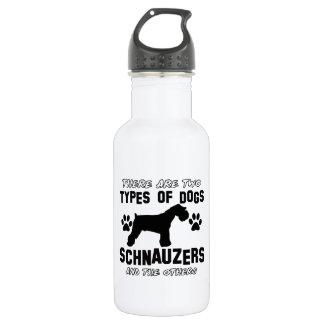 Diseños de la raza del perro del Schnauzer