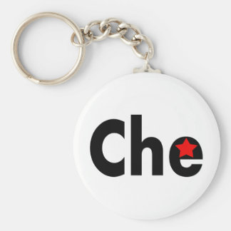¡Diseños de la revolución de Che! Llavero Redondo Tipo Pin