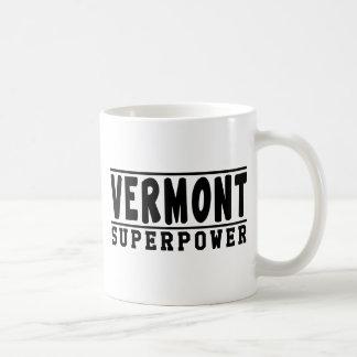 Diseños de la superpotencia de Vermont Taza