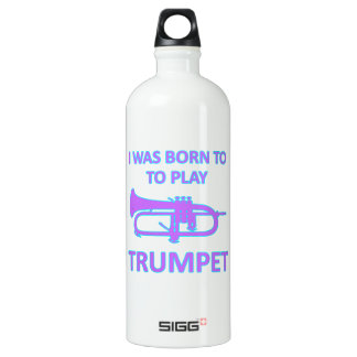 Diseños de la trompeta botella de agua