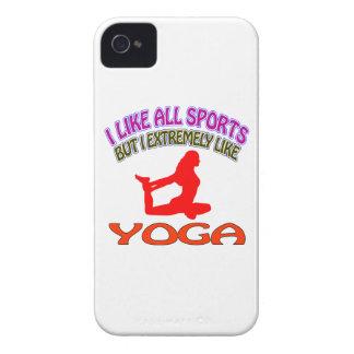 Diseños de la yoga iPhone 4 Case-Mate coberturas