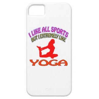 Diseños de la yoga iPhone 5 Case-Mate cobertura