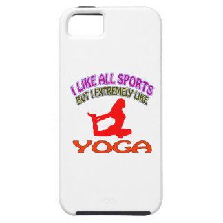 Diseños de la yoga iPhone 5 Case-Mate fundas