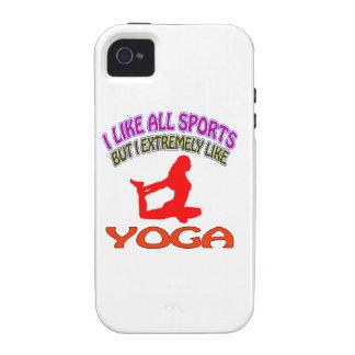 Diseños de la yoga vibe iPhone 4 carcasa