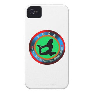 Diseños de la yoga Case-Mate iPhone 4 protectores