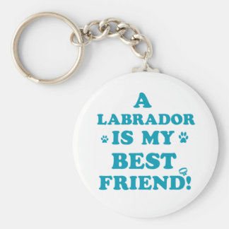 Diseños de Labrador Llavero Redondo Tipo Pin