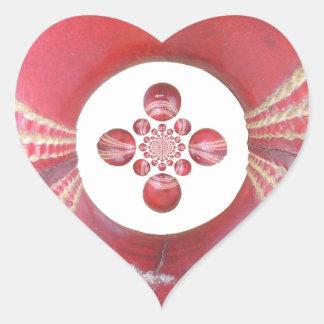 Diseños de las bolas de grillo del matata de pegatinas corazon