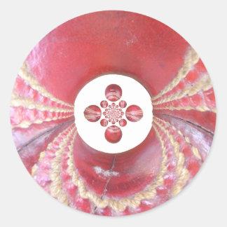 Diseños de las bolas de grillo del matata de etiquetas redondas