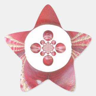 Diseños de las bolas de grillo del matata de calcomanía forma de estrellae