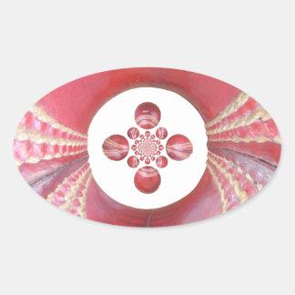 Diseños de las bolas de grillo del matata de colcomanias de óval