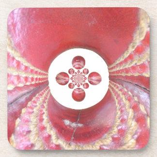 Diseños de las bolas de grillo del matata de posavasos