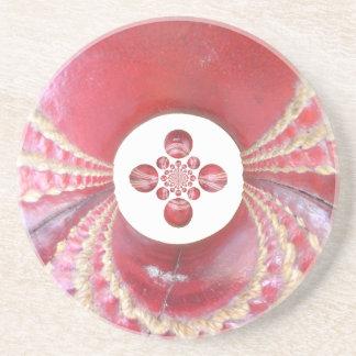 Diseños de las bolas de grillo del matata de posavasos diseño