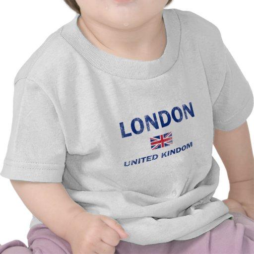 Diseños de Londres Reino Unido Camiseta