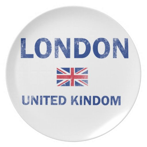 Diseños de Londres Reino Unido Platos